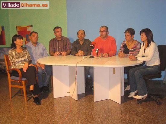 Rueda de prensa de los 7 ex concejales del PP., Foto 1