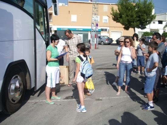 El pasado viernes 30 de junio partieron los chavales del primer campamento de verano, Foto 3