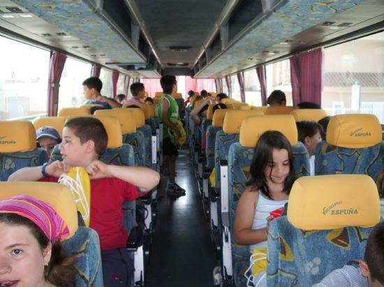 El pasado viernes 30 de junio partieron los chavales del primer campamento de verano, Foto 4