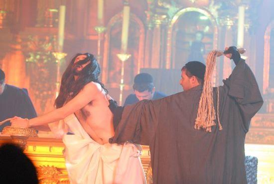 """Tespis, con su """"Auto del Vía Cruxis"""" llena la iglesia de San Lázaro, Foto 2"""