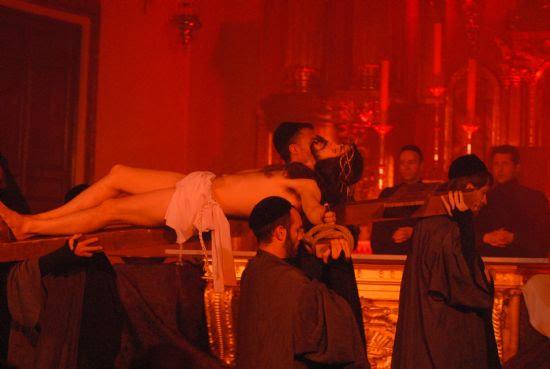 """Tespis, con su """"Auto del Vía Cruxis"""" llena la iglesia de San Lázaro, Foto 4"""