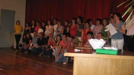 El concejal de educación de Totana asiste a la clausura del curso del centro de educación de adultos del bajo Guadalentín, celebrada en Alhama , Foto 5