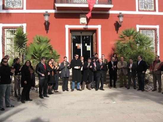 El consejero de Cultura garantiza la restauración del Castillo de Alhama, Foto 3