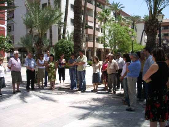 Alhama se solidariza con Valencia guardando cinco minutos de silencio, Foto 1
