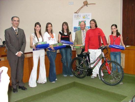 Entrega de premios del concurso de dibujo del Plan de Prevención de Riesgos Laborales 2006, Foto 1