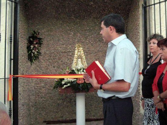 Gebas dedica una capilla a la Virgen del Rocío, Foto 1
