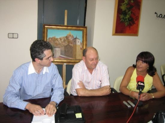 El vicerrector de la UCAM, Pablo Blesa Aledo, pregonero de las fiestas patronales de Alhama, Foto 1