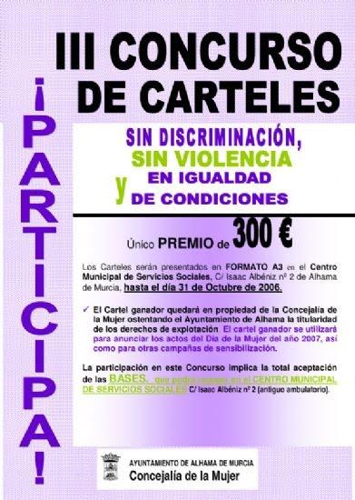 300 euros para la obra seleccionada en el III Concurso de Carteles que organiza la Concejalía de Mujer para publicitar todos los actos del Día de la Mujer, Foto 1
