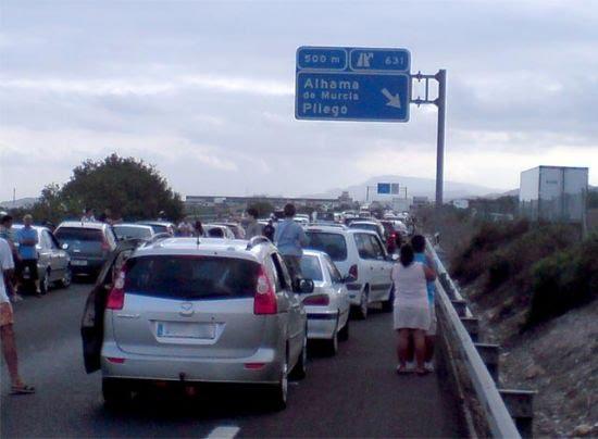 Fin de semana especialmente accidentado en la comarca del Guadalentín, Foto 1