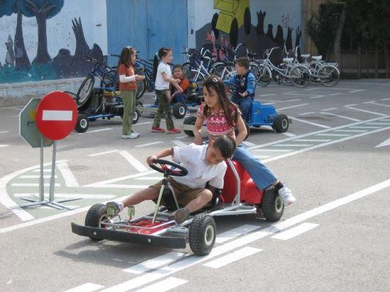 Los niños de las pedanías visitan el Parque Infantil de tráfico, Foto 1