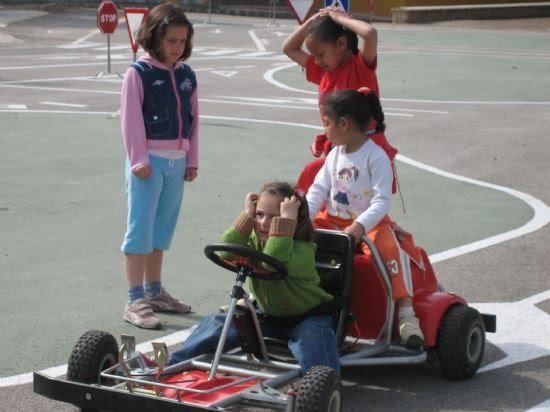 Los niños de las pedanías visitan el Parque Infantil de tráfico, Foto 2