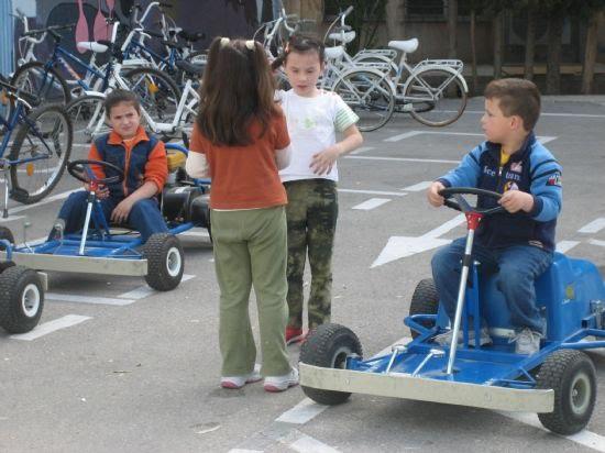 Los niños de las pedanías visitan el Parque Infantil de tráfico, Foto 3
