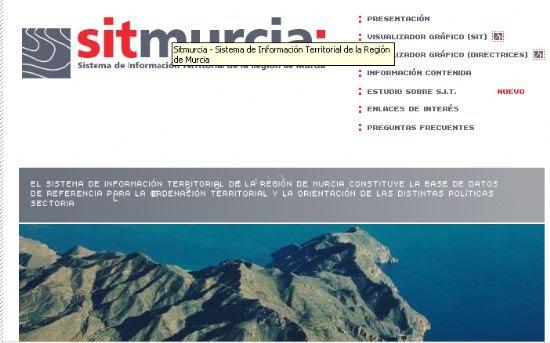 El Sistema de Información Territorial de la Región de Murcia pone a disposición de los usuarios una página Web desde la que los ciudadanos pueden descargarse los planos de sus propiedades , Foto 1