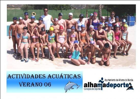 Finaliza el primer turno de las actividades acuáticas de verano, Foto 1