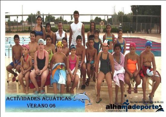 Finaliza el primer turno de las actividades acuáticas de verano, Foto 2