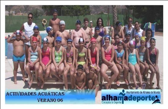 Finaliza el primer turno de las actividades acuáticas de verano, Foto 3