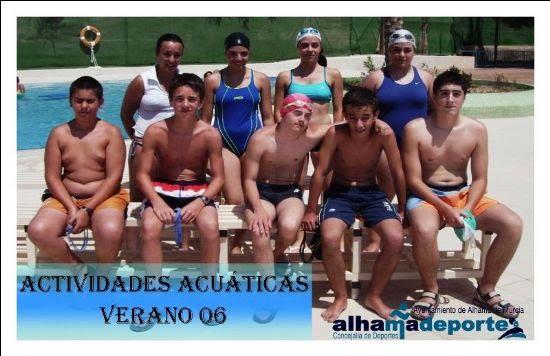 Finaliza el primer turno de las actividades acuáticas de verano, Foto 4