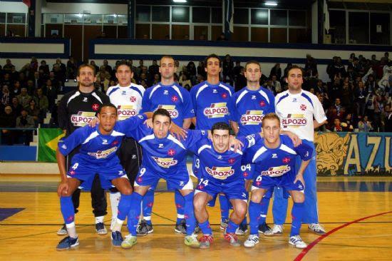 ELPOZO ALIMENTACIÓN patrocina al equipo Os Belenenses de Fútbol Sala en Portugal durante dos temporadas, Foto 1