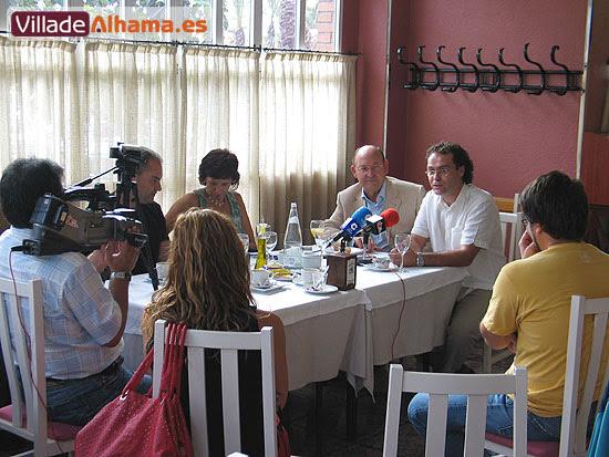 Rueda de prensa, valoración del Pleno del pasado jueves 27 de septiembre, Foto 4