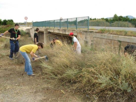 Scouts, Medio Ambiente y el Parque Regional de Sierra Espuña, en decidida lucha para la conservación del tejón en nuestro entorno , Foto 1
